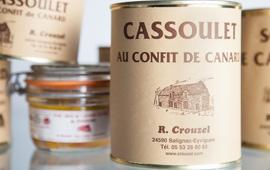 Extrait de la gamme Crouzel, artisan conservier