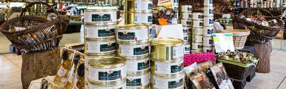 Boutique Grolière, artisan conservier