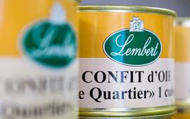 Extrait de la gamme Lembert, artisan conservier