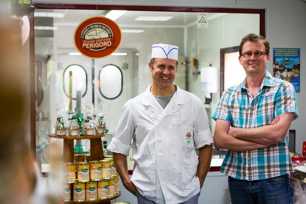 Photo des frères Depenweiller : Cédric et Stéphane