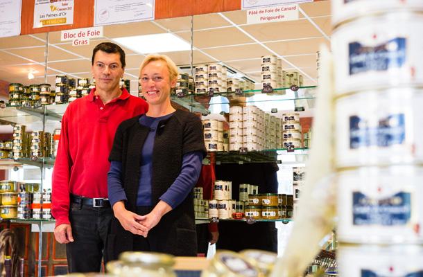 Photo de Jean-Marc et Sophie Grolière