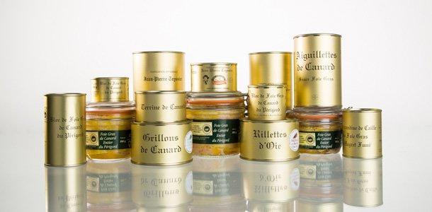 Extrait de la gamme Teyssier, artisan conserveur en Dordogne