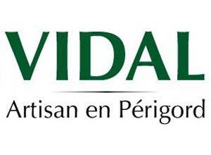 Logo conserverie gastronomique Vidal, artisan conserveur